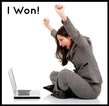 laptop, women, win, won