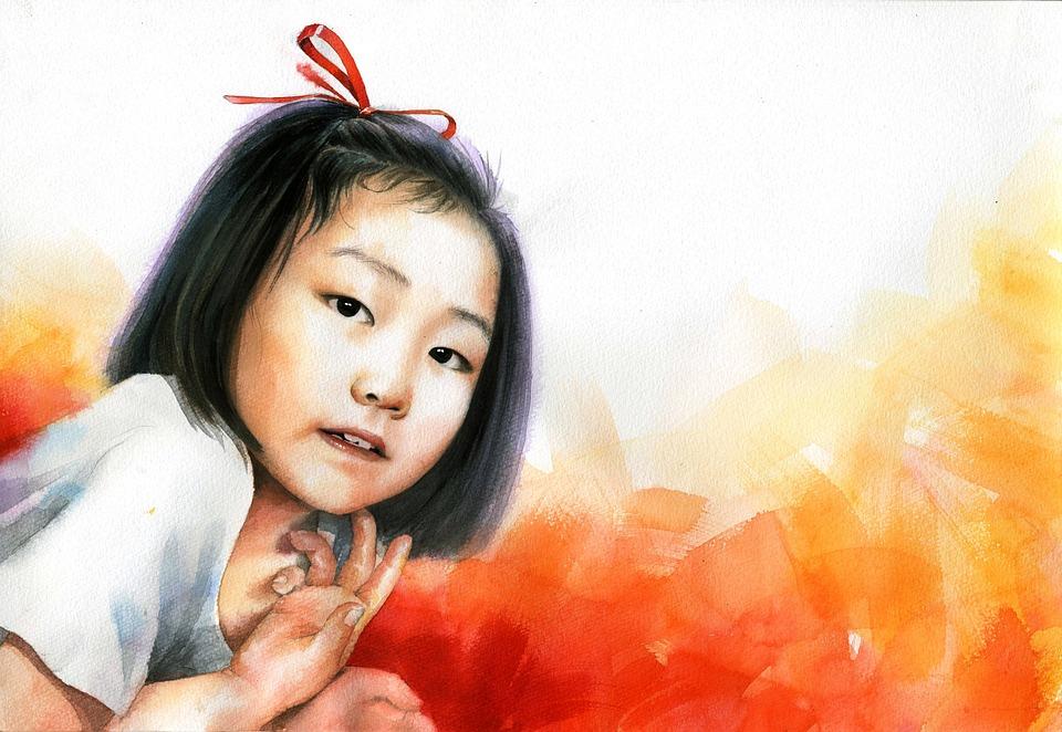 watercolor-portrait-1050719_960_720