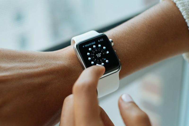 1-woman-checking-smart-watch