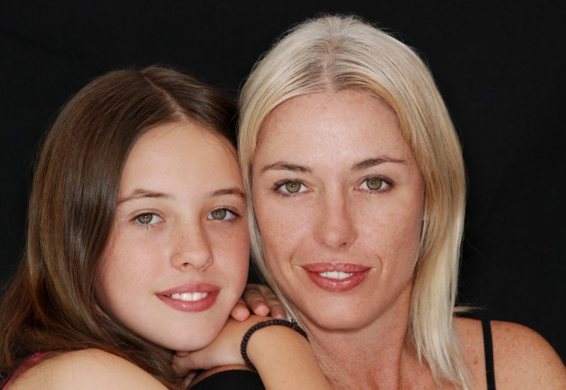 women,family-mom-daughter-smiling-happy-teenager