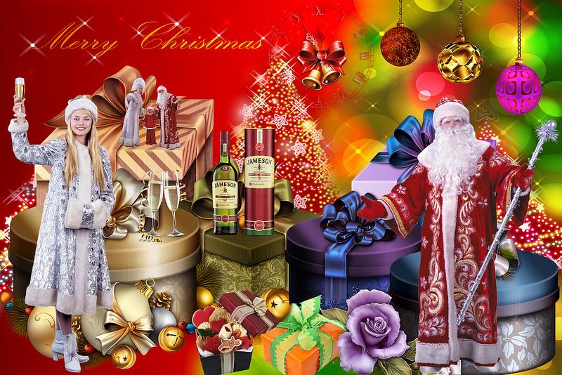 card, Christmas, gift