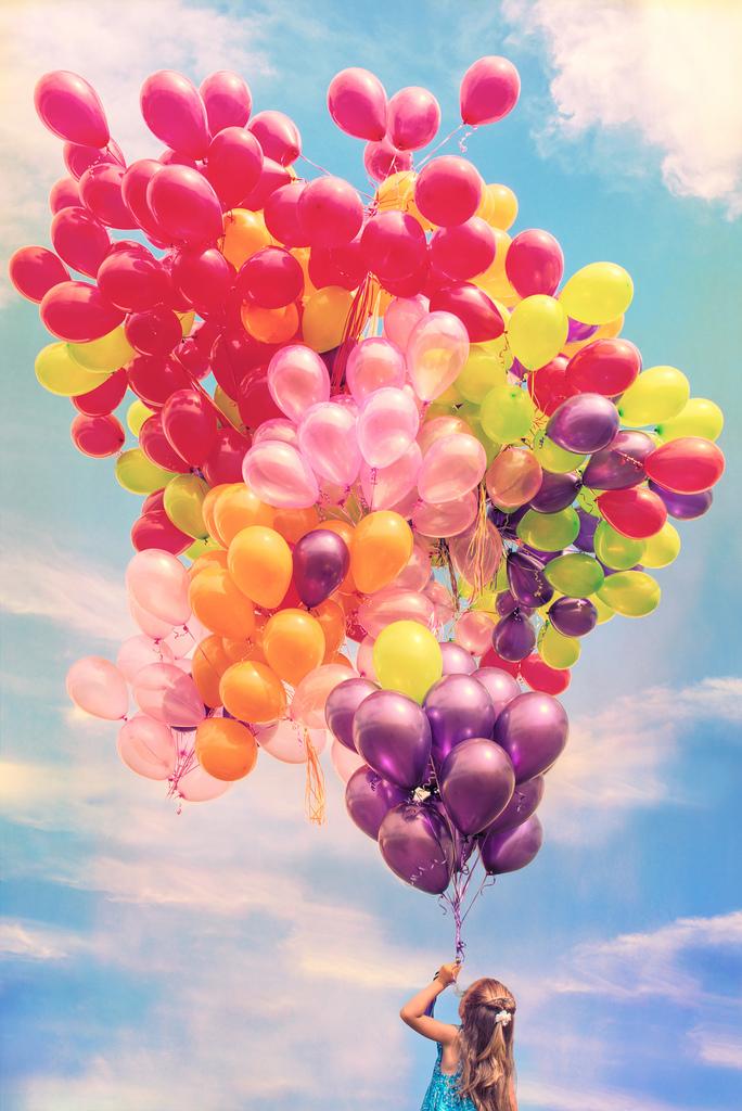 ballon, happy