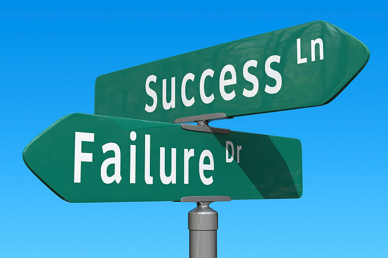 sucess, failure