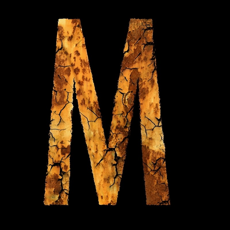 m, letter-stainless-font-module-m