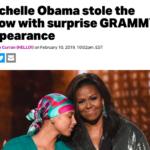 ミシェル・オバマ夫人、グラミーサプライズ登場!(#983)